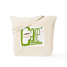 Cafe 24/7 Tote Bag