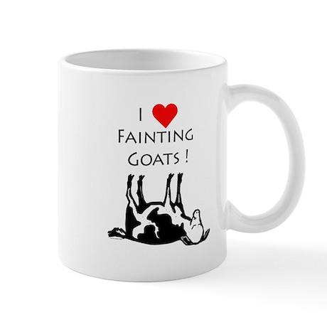 I love fainting goats Mug by POXART