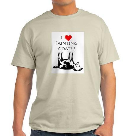 I love fainting goats Light T-Shirt