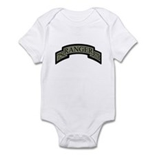75th Ranger STB Scroll ACU Infant Bodysuit