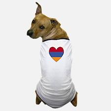 Flag of Aremenia Heart Dog T-Shirt