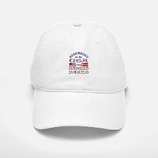 USA / Danish Parts Baseball Baseball Cap
