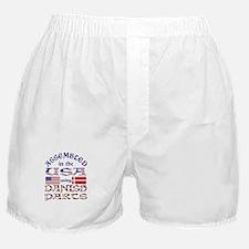 USA / Danish Parts Boxer Shorts