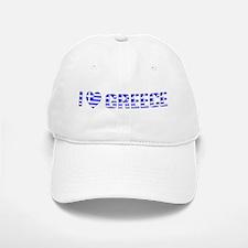 I (Heart) Love Greece Baseball Baseball Cap