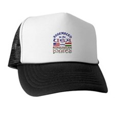 USA/Hungarian Parts Trucker Hat