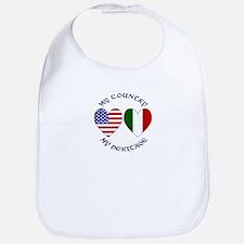 Italian My Country My Heritag Bib