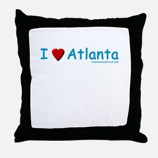 I Love Atlanta - Throw Pillow