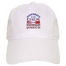 USA/Norwegian Parts Baseball Cap
