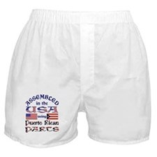 USA / Puerto Rican Parts Boxer Shorts