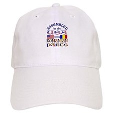 USA/Romanian Parts Baseball Cap