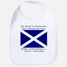 Scottish Blood & Whisky St. A Bib