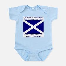 Scottish Blood & Whisky St. A Infant Bodysuit