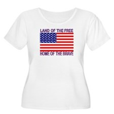 Land of Free, Home of Brave T-Shirt