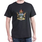 Zimbabwe Coat Of Arms Black T-Shirt