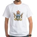 Zimbabwe Coat Of Arms White T-Shirt