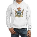 Zimbabwe Coat Of Arms Hooded Sweatshirt