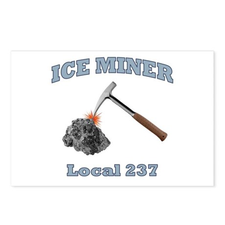 Ice Miner Postcards (Package of 8)