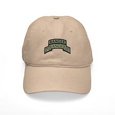 1st Ranger Bn with Ranger Tab Baseball Cap