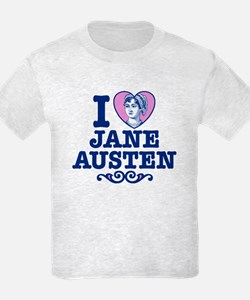 I Love Jane Austen T-Shirt