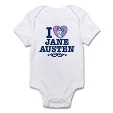I Love Jane Austen Infant Bodysuit