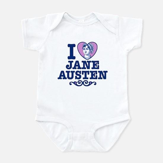 I Love Jane Austen Infant Bodysuit