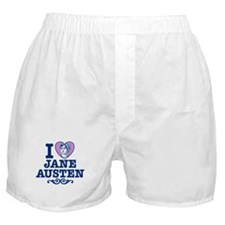 I Love Jane Austen Boxer Shorts