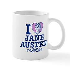 I Love Jane Austen Mug