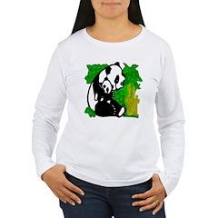 Panda Mommy & Baby T-Shirt