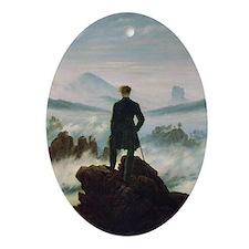 Caspar David Friedrich (1774- Oval Ornament