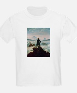 Caspar David Friedrich (1774- Kids T-Shirt