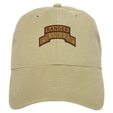1st Ranger Bn Scroll/ Tab Des Baseball Cap