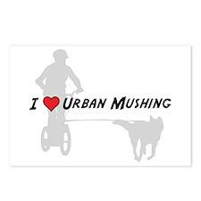 Love Urban Mushing Postcards (Package of 8)