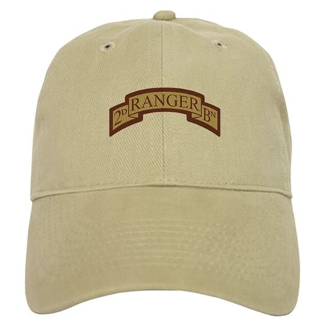2nd Ranger Bn Scroll Desert Cap