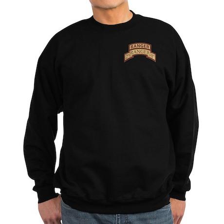 2nd Ranger Bn Scroll/Tab Dese Sweatshirt (dark)