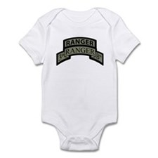 3rd Ranger Bn Scroll/Tab ACU Infant Bodysuit