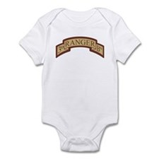 3rd Ranger Bn Scroll Desert Infant Bodysuit