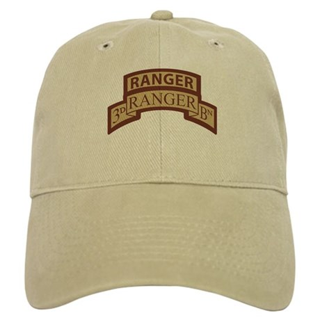 3rd Ranger Bn Scroll/Tab Dese Cap