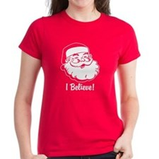 I Believe Santa Claus Tee
