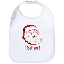 I Believe Santa Claus Bib