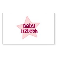 Baby Lizbeth Rectangle Decal