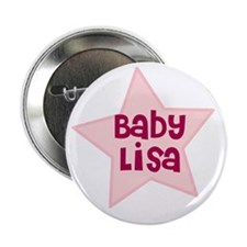 "Baby Lisa 2.25"" Button (100 pack)"