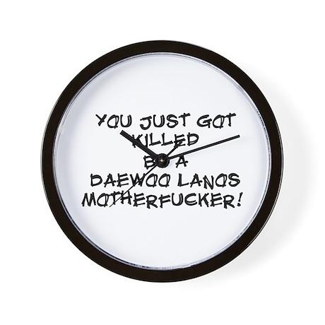 Killer Daewoo Wall Clock