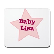 Baby Lisa Mousepad