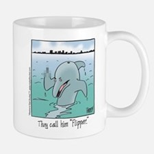 """They Call Him Flipper"" Mug"