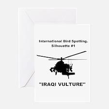Iraqi Vulture - Greeting Card