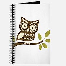Funny Owl tree Journal
