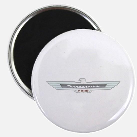 Ford Thunderbird Emblem Chrome Magnet