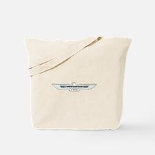 Ford Thunderbird Emblem Chrome Tote Bag