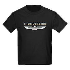 Ford Thunderbird Emblem Orange Chrome T