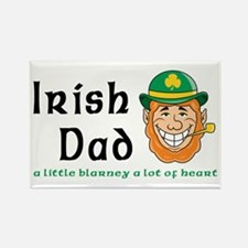 Irish Dad Rectangle Magnet